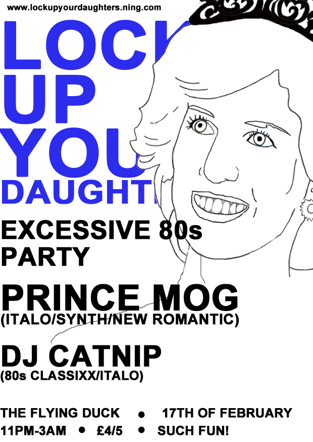 Night: EXCESSIVE 80s PARTY